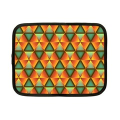 Background Triangle Abstract Golden Netbook Case (small)