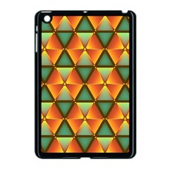 Background Triangle Abstract Golden Apple Ipad Mini Case (black)
