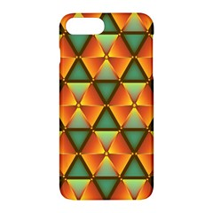 Background Triangle Abstract Golden Apple Iphone 7 Plus Hardshell Case