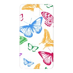 Butterfly Rainbow Samsung Galaxy Note 3 N9005 Hardshell Back Case