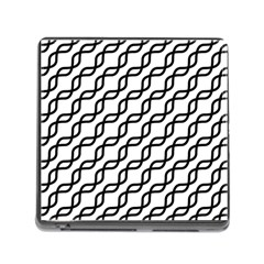 Diagonal Stripe Pattern Memory Card Reader (square 5 Slot)