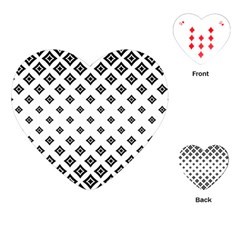 Concentric Halftone Wallpaper Playing Cards (heart)