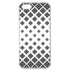 Concentric Halftone Wallpaper Apple Seamless Iphone 5 Case (clear)