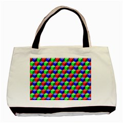 Colorful Prismatic Rainbow Basic Tote Bag