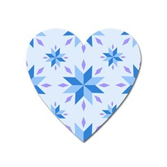 Dutch Star Snowflake Holland Heart Magnet by Alisyart