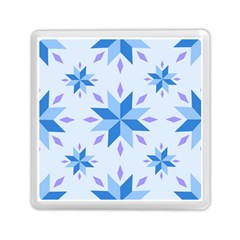 Dutch Star Snowflake Holland Memory Card Reader (square)