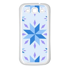 Dutch Star Snowflake Holland Samsung Galaxy S3 Back Case (white)