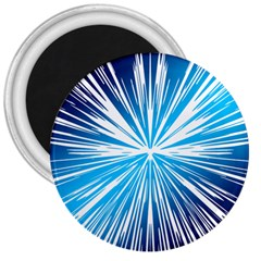Color Blue Background Structure 3  Magnets