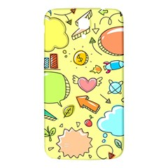 Cute Sketch Child Graphic Funny Samsung Galaxy Mega I9200 Hardshell Back Case by Alisyart