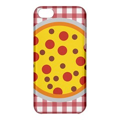 Pizza Table Pepperoni Sausage Apple Iphone 5c Hardshell Case