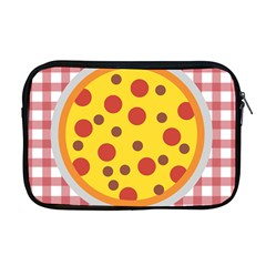 Pizza Table Pepperoni Sausage Apple Macbook Pro 17  Zipper Case