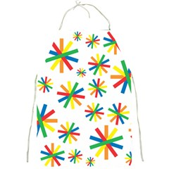 Celebrate Pattern Colorful Design Full Print Aprons