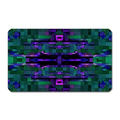 Abstract Pattern Desktop Wallpaper Magnet (rectangular)
