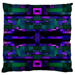 Abstract Pattern Desktop Wallpaper Large Cushion Case (one Side)