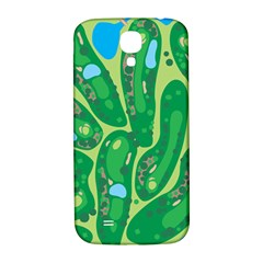 Golf Course Par Golf Course Green Samsung Galaxy S4 I9500/i9505  Hardshell Back Case