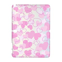 Valentine Background Hearts Bokeh Samsung Galaxy Note 10 1 (p600) Hardshell Case