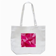 Pattern Halftone Geometric Tote Bag (white)