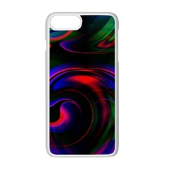 Swirl Background Design Colorful Apple Iphone 8 Plus Seamless Case (white)
