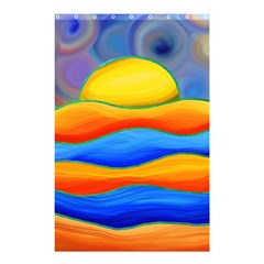 Paint Painting Landscape Scene Shower Curtain 48  X 72  (small)