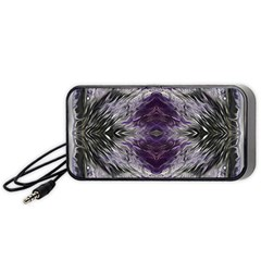 Pattern Abstract Horizontal Portable Speaker