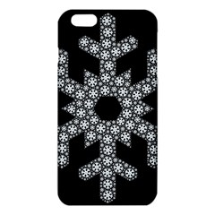 Snowflake Abstract Pattern Shape Iphone 6 Plus/6s Plus Tpu Case