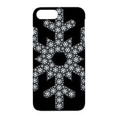 Snowflake Abstract Pattern Shape Apple Iphone 7 Plus Hardshell Case