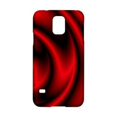 Background Red Color Swirl Samsung Galaxy S5 Hardshell Case