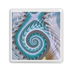 Spiral Fractal Swirl Whirlpool Memory Card Reader (square)