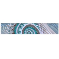 Spiral Fractal Swirl Whirlpool Large Flano Scarf  by Pakrebo