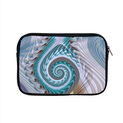 Spiral Fractal Swirl Whirlpool Apple Macbook Pro 15  Zipper Case by Pakrebo