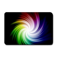 Rainbow Swirl Twirl Small Doormat