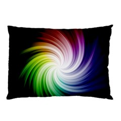Rainbow Swirl Twirl Pillow Case