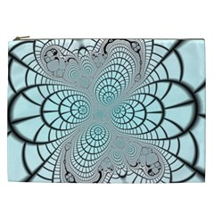 Digital Art Fractal Abstract Cosmetic Bag (xxl)