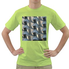 Pattern Texture Form Background Green T Shirt