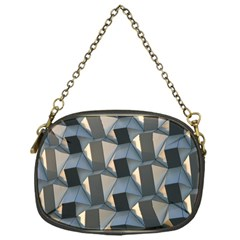 Pattern Texture Form Background Chain Purse (one Side)