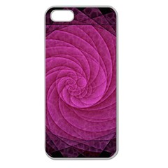 Background Scrapbooking Abstract Apple Seamless Iphone 5 Case (clear)