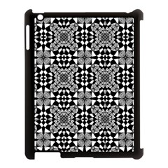 Fabric Design Pattern Color Apple Ipad 3/4 Case (black)
