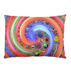 Swirl Vortex Emoji Cyclone Motion Pillow Case