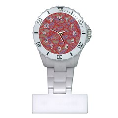 Love Hearts Valentines Connection Plastic Nurses Watch