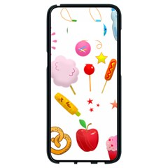 Summer Fair Food Goldfish Samsung Galaxy S8 Black Seamless Case