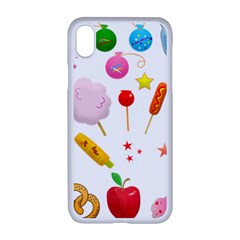 Summer Fair Food Goldfish Apple Iphone Xr Seamless Case (white)