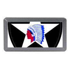 United States Army 2nd Infantry Division Shoulder Sleeve Insignia Memory Card Reader (mini)