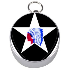 United States Army 2nd Infantry Division Shoulder Sleeve Insignia Silver Compasses by abbeyz71