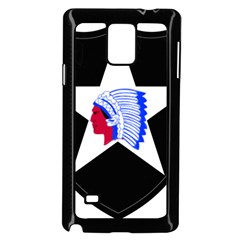 United States Army 2nd Infantry Division Shoulder Sleeve Insignia Samsung Galaxy Note 4 Case (black)