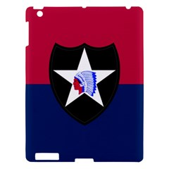 Flag Of United States Army 2nd Infantry Division Apple Ipad 3/4 Hardshell Case