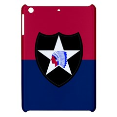 Flag Of United States Army 2nd Infantry Division Apple Ipad Mini Hardshell Case