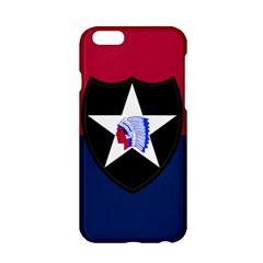 Flag Of United States Army 2nd Infantry Division Apple Iphone 6/6s Hardshell Case