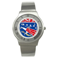 Logo Of United States Forces Korea Stainless Steel Watch