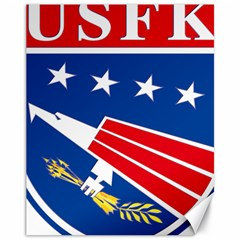Logo Of United States Forces Korea Canvas 11  X 14