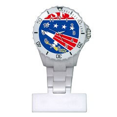 Logo Of United States Forces Korea Plastic Nurses Watch by abbeyz71